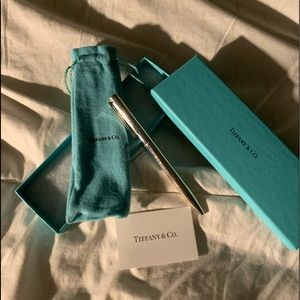 Executive Tiffany T-clip Ballpoint Pen